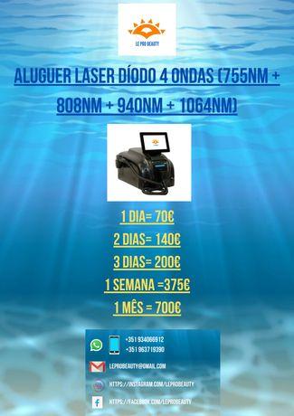 Aluguer Laser Díodo 4 ondas