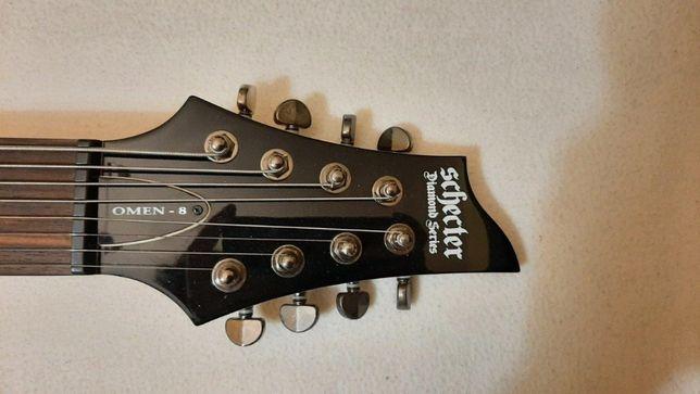 Gitara 8-strunowa Schecter Omen 8 GLOSS