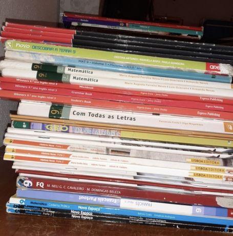 Historia Nove/ Winners 9/ Novo Espaco 9 - varios livros 9 ano