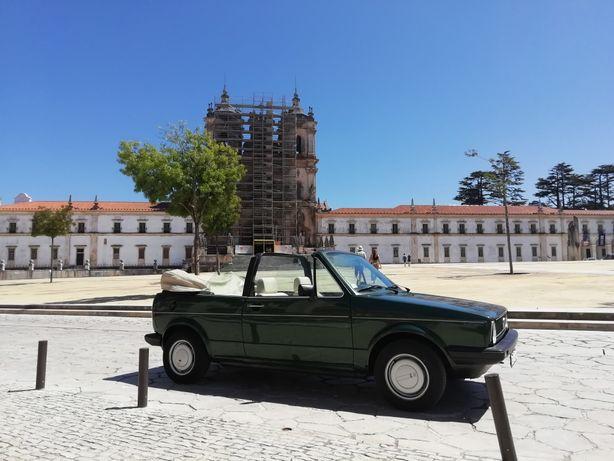 Alugo Clássicos, VW Golf MK1 Cabrio e Sunbeam Rapier Fastback