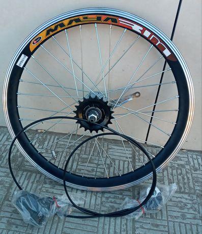 Вело колесо 20,24,26,28 дюймов на двойном ободе втулка планетарная