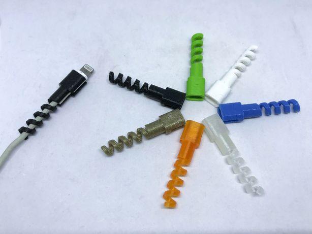Protector de cabo carregador (iPhone, iPad, iPod) - Várias Cores