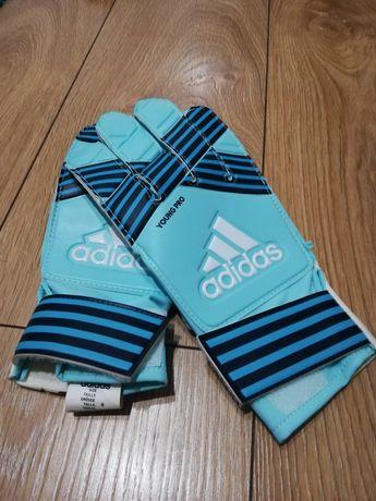 Rękawice bramkarskie adidas junior rozmiar 8