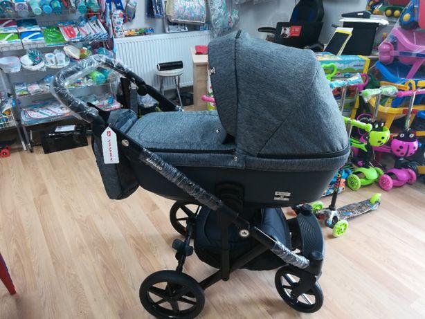 Nowy wózek wielofunkcyjny Adamex Emilio 2w1 ,3w1 gondola,spacerówka