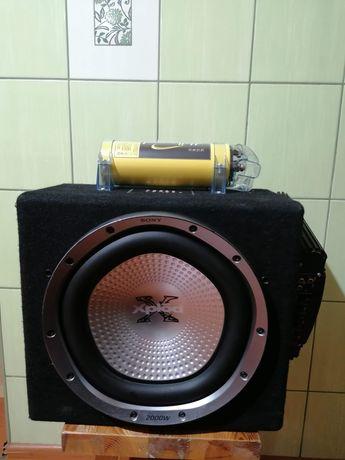 Tuba basowa subwoofer Sony Xplod 2000w