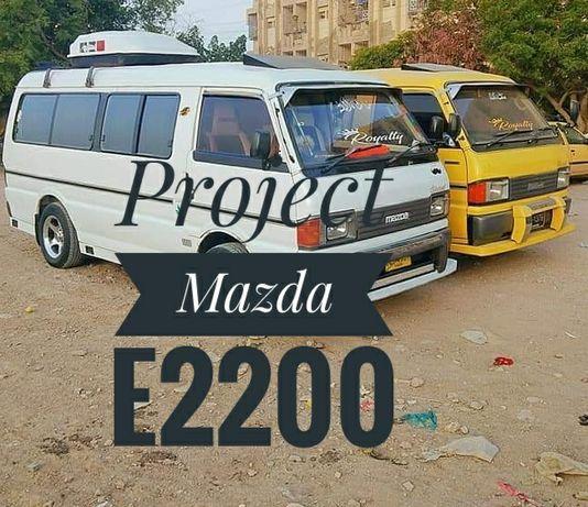 Mazda e2200 campervan