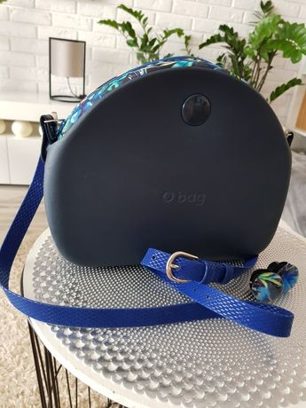 Świetna torebka obag blue navy