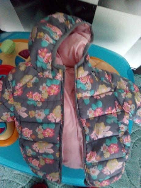 Курточка  ZARA для девочки ,двухсторонняя