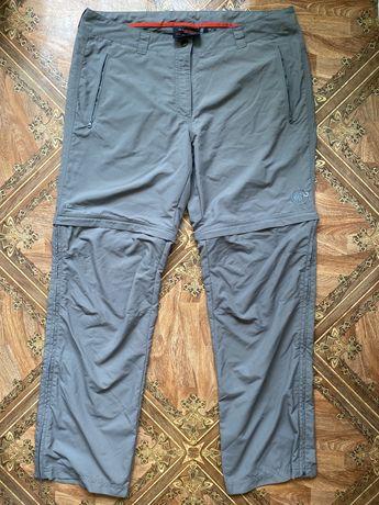 Треккинговые штаны mammut,оригинал,размер 42,спортивные,серые,новые