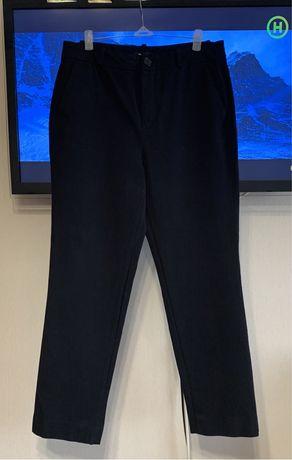 Massimo Dutti оригинал мягкие укороченные брюки размер М