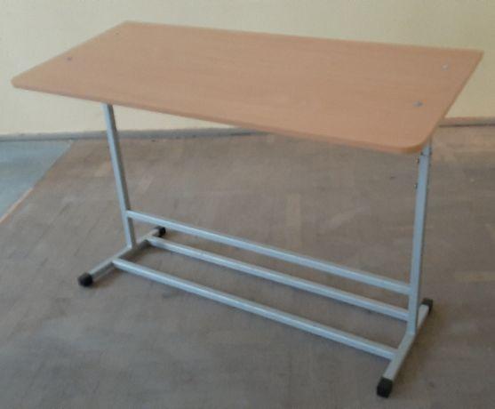 Стол ученический 2-местный, регулируемая высота (парта)