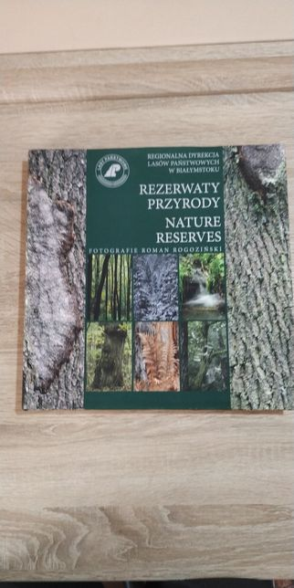 Książka książki album rezerwaty przyrody zdjęcia piękne nowy wysyłka
