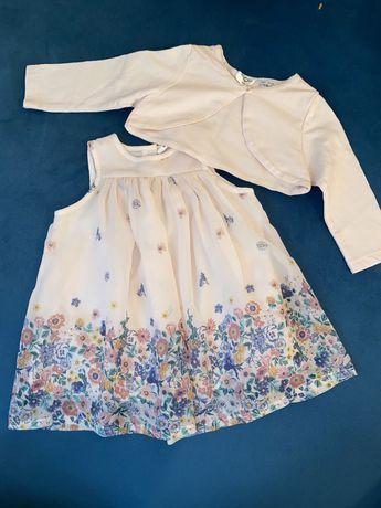 Sukienka z bolerkiem rozm 68 kappahl