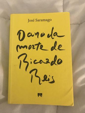 """Livro """"O ano da morte de Ricardo Reis"""""""