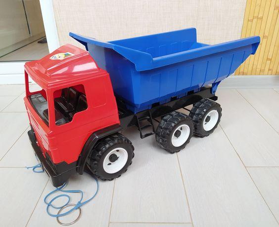Грузовик самосвал машинка большая детский грузовик большой орион