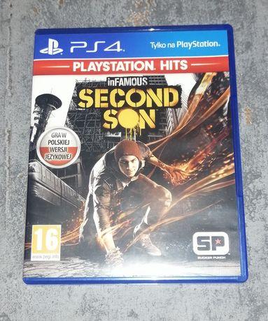 InFamous Second Son - PS4 Polski dubbing sprzedaż/wymiana