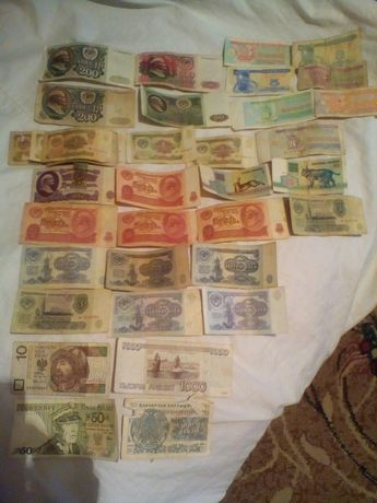 Продам разные банкноты