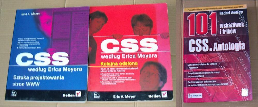 CSS wegług Erica Meyera - 2 tomy + 101 trików z CSS Kalisz - image 1
