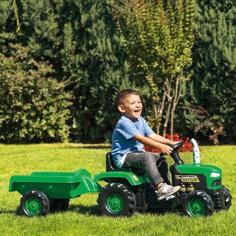 Дитячий трактор з причепом