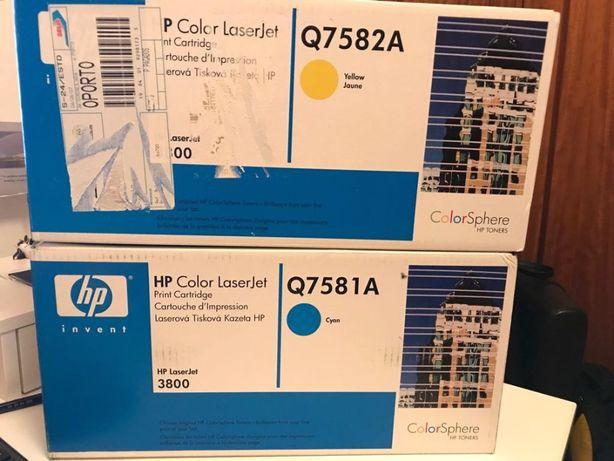 Toner HP Q7581A/Q7582A