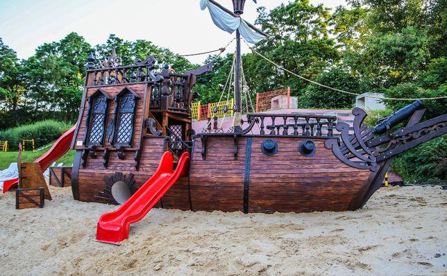 Statek piracki - plac zabaw - PZ14 ! Dla dzieci!