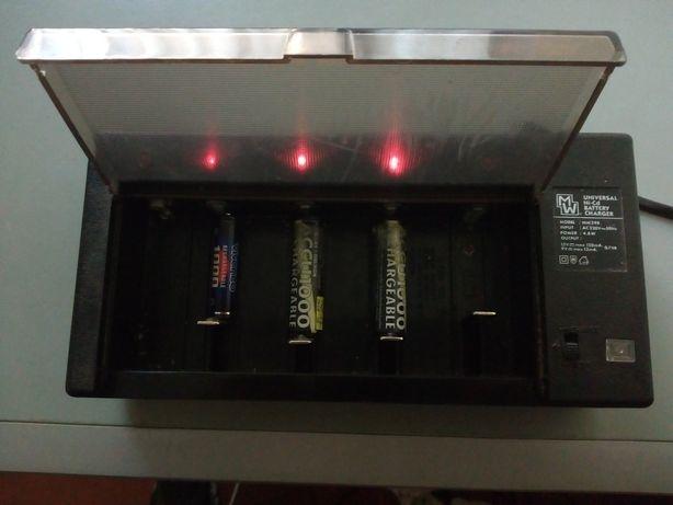 Carregador de pilhas universal