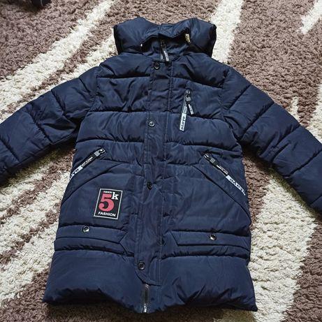 Куртка зимова на 7-9років