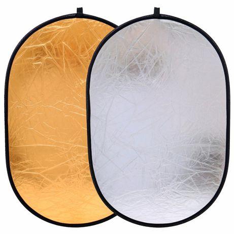 Отражатель света (рефлектор) 2 в 1 для фото и видео (разные размеры)