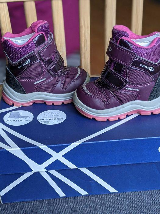 Дитячі зимові черевики Geox waterproof, 20р Львов - изображение 1