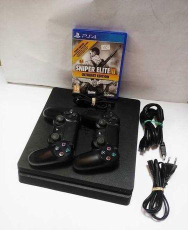 KONSOLA PS4 1TB /2x pad/ gra / komplet !