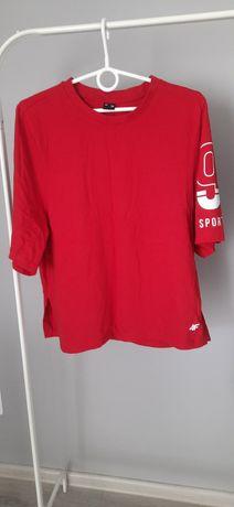 Koszulka czerwona 4F M