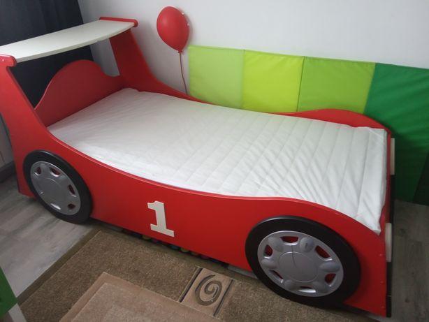Drewniane łóżko samochód auto