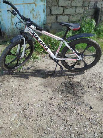 Велосипед горный - MAXIMA  TOMMY 26, цвет - белый.