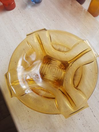 Stare szkło misa  prl