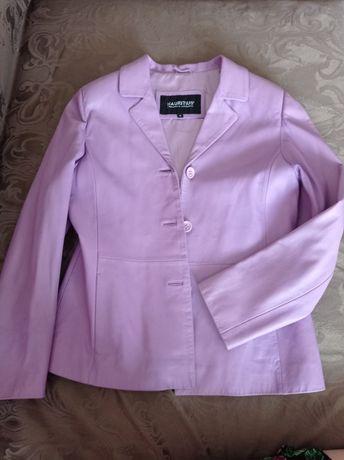 Куртка шкіряна жіноча коротка