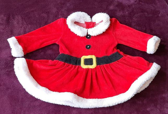 Новогодний костюм помошницы санты деда мороза f&f