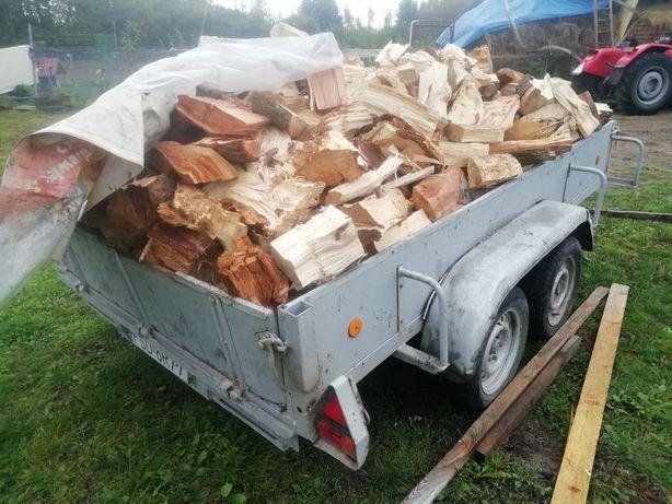 Drewno opałowe  sezonowane transpotr