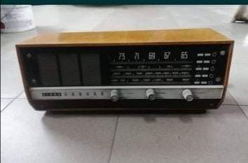 Radio lampowe Diora Kankan