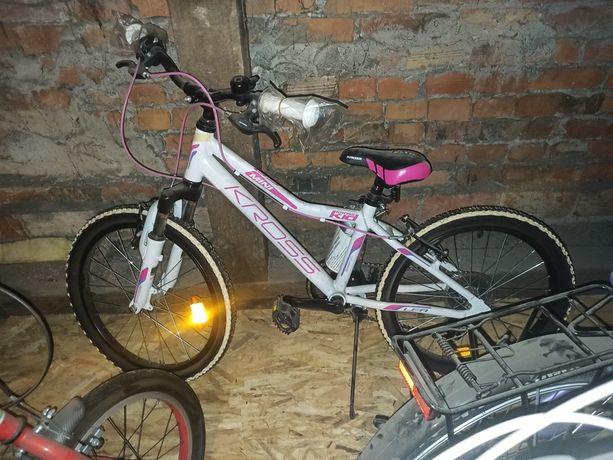 NOWY rower Kross Lea Mini, koło 20 cali, aluminiowa rama