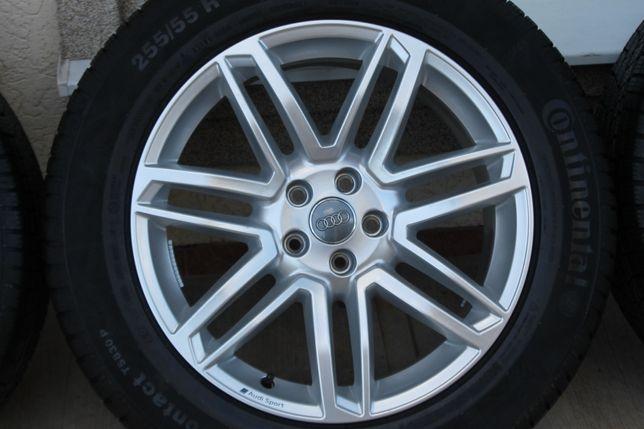 Диски литые оригинал R19 Audi Q7 SQ7 Q8 255/55/19 VW Touareg новые