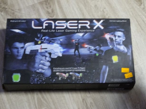 pistolety laserowe - komplet