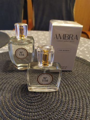 3szt perfum z rozlewni Ambra 116 inspirowane Escada Born in Paradise