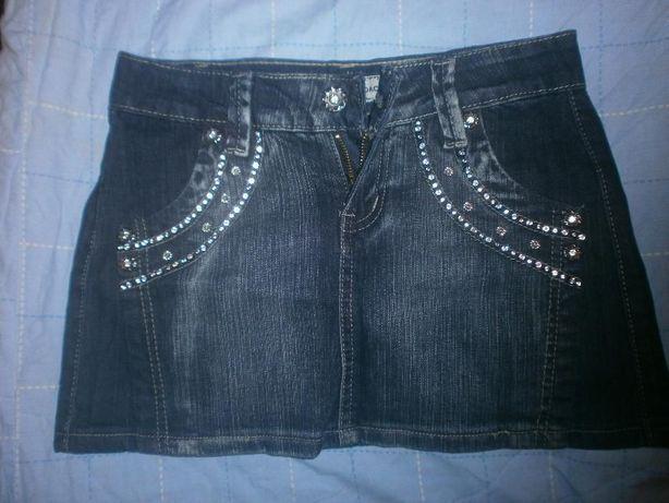 Новая джинсовая мини-юбка 26 размера