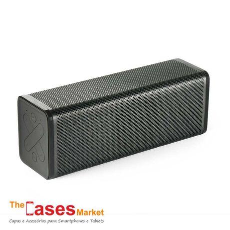 Coluna Bluetooth com Rádio FM e microfone
