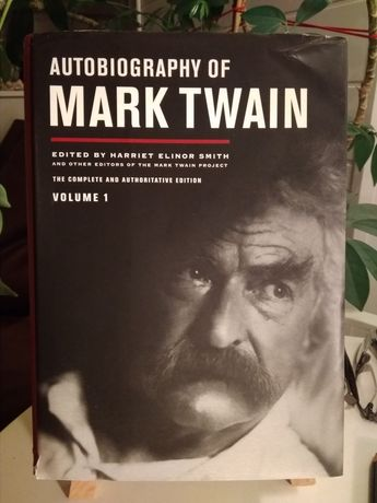 Autobiografia Autobiography of Mark Twain volume 1 w języku angielskim
