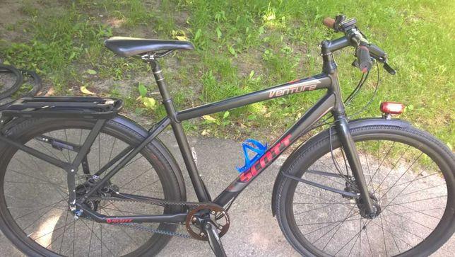Туристический велосипед Scott Venture 10 2012 на ремне