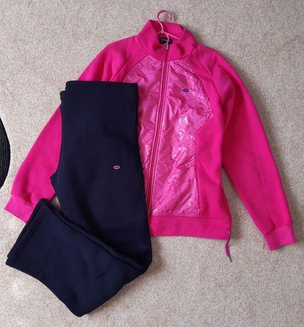 Спортивный костюм розовый батал большой размер Спортивний костюм Linke