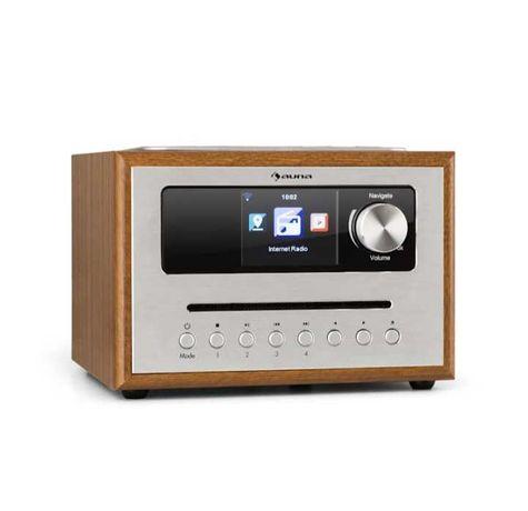 Nowa! Radio internetowe  ,radioodtwarzacz Silver Star CD  mp3 Cube