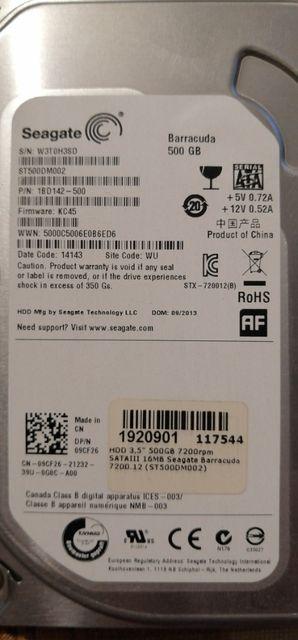 жесткий диск Seagate 500 gb 3.5