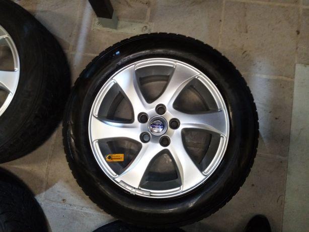 Jantes Volvo 5x108 com pneus novos